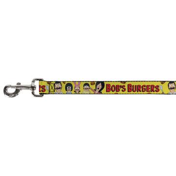 Bobs Burgers Belcher Family Buckle Down Dog Leash