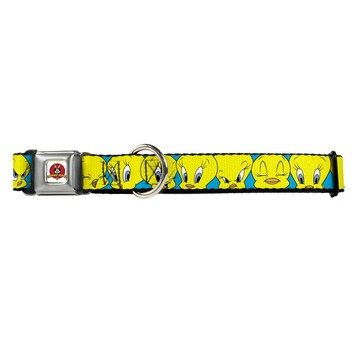 Looney Tunes Tweety Bird Buckle-Down Seat Belt Buckle Dog Collar