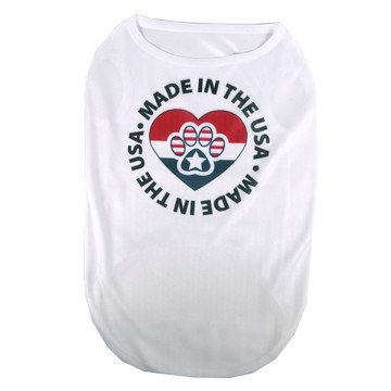 Patriotic Paws Made In The USA Pet T-Shirt