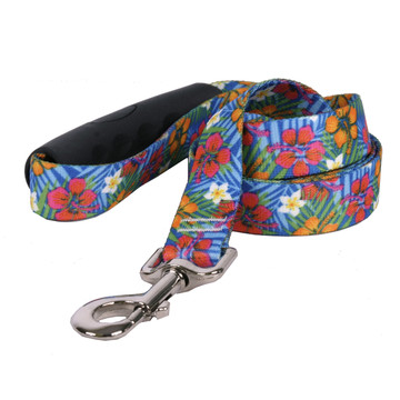 Hibiscus Paradise EZ-Grip Dog Leash