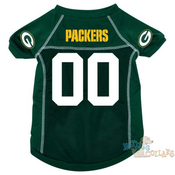 Green Bay Packers Nfl Football Dog Jersey Clearance