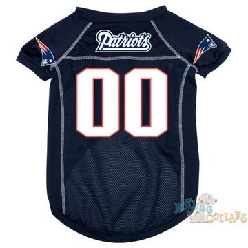 New England Patriots NFL Football Dog Jersey - CLEARANCE f0ffc4d32