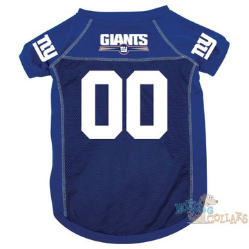 New York Giants NFL Football Dog Jersey - CLEARANCE