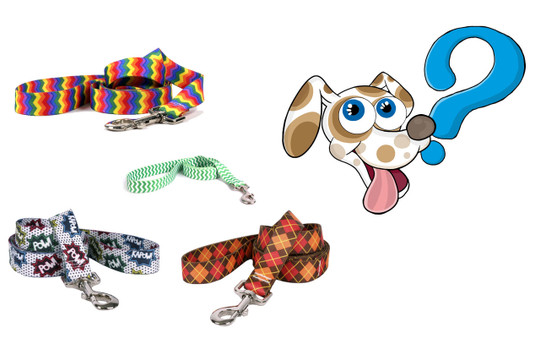 Grab Bag Dog Leash - Made in the USA