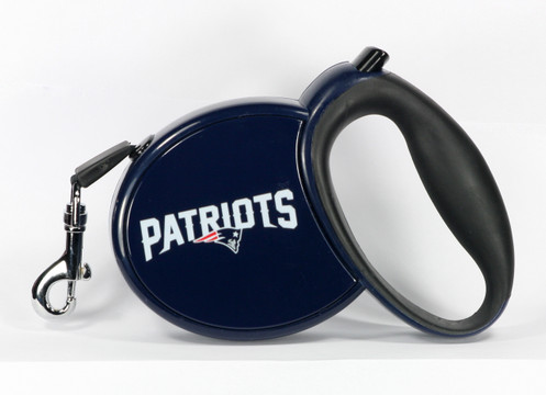 New England Patriots Retractable Dog Leash