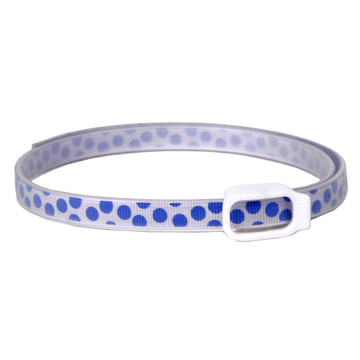 Essential Oils Dog Collar - Blue Polka Dot (