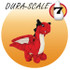 Red Dragon Jr Mighty Dog Squeaker Toy