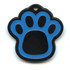 Hot Dog Pet ID Tag - Pawprint Shaped