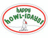 Happy Howlidays Oval Magnet