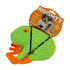 Frank The Frog Microfiber Dog Toy