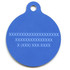 Rainbow Chevron HD Pet ID Tag