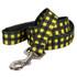 Buffalo Plaid Yellow EZ-Grip Dog Leash