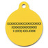 Hot Dogs HD Pet ID Tag