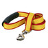 Sterling Stripes Yellow and Red Dog Leash