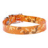 Orange Camo Elements Dog Collar