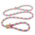 Braided Rope Multi-Color Slip Leash For Dogs