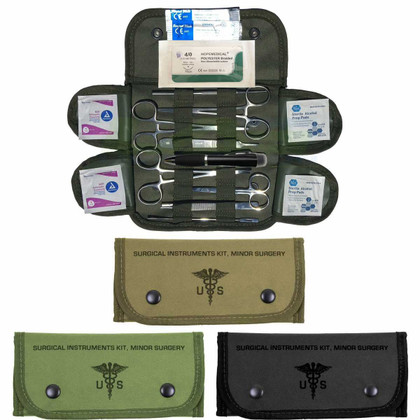 Military Surgical & Suture Kit