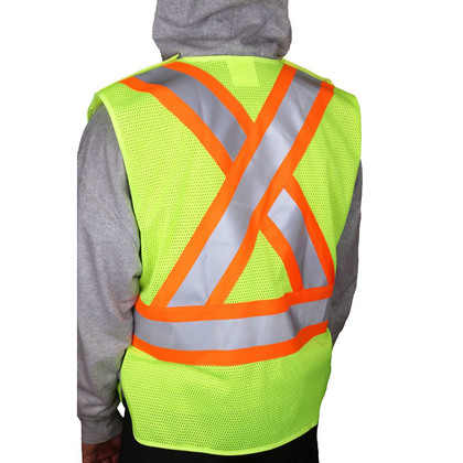 Majestic Class 2 Safety Vest - X Back