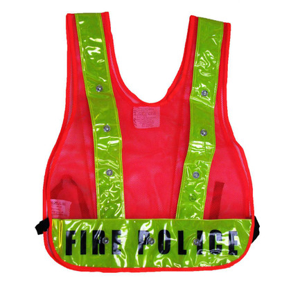 Class 1 LED Safety Vest - Printed