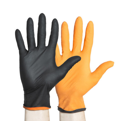 Halyard BLACK FIRE Powder Free Nitrile Glove