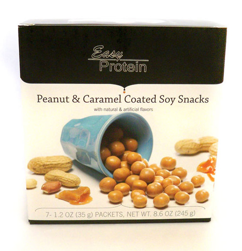 Maintenance Peanut & Caramel Soy Snacks - High Protein Snack - While Supplies Last