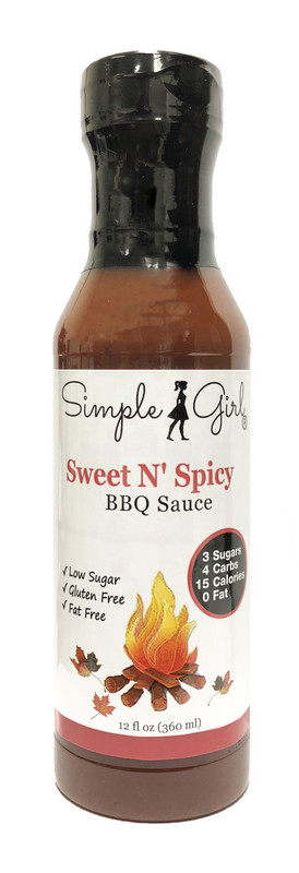 Simple Girl Sweet N' Spicy BBQ Sauce