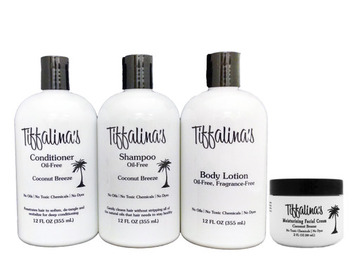 4 pc Oil Free Diet Safe - Tiffalina's Personal Care Pack