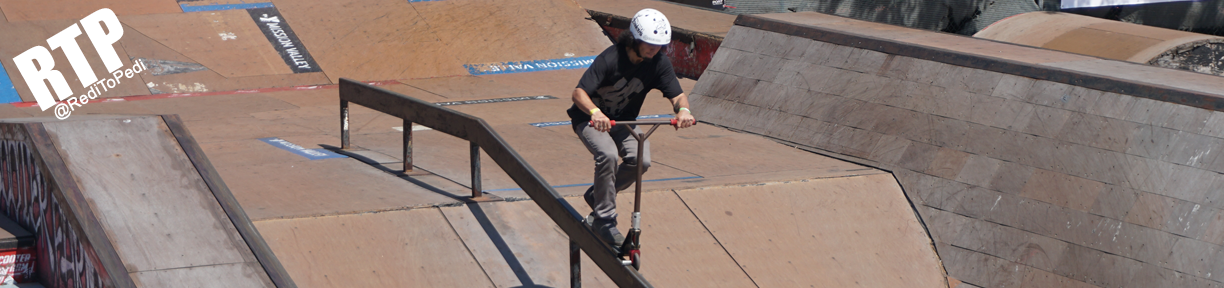 Proto Scooter wheels are used by professional scooter riders like Chema Cardenas.
