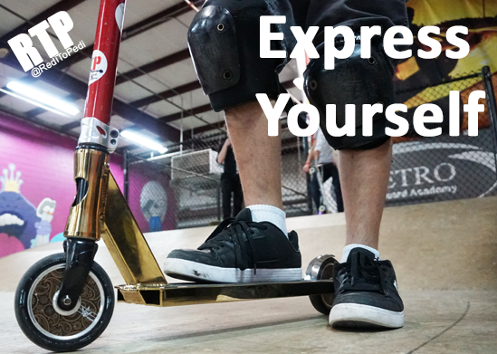 Build or create your own custom pro scooter.