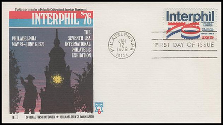 1632 / 13c Interphil '76 Fleetwood 1976 First Day Cover