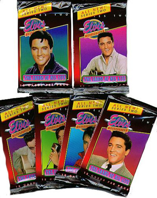 6 Packs Of The Elvis Collection Trading Cards Series 2 First Day