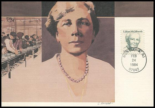 1868 / 40c Lillian M. Gilbreth 1984 Fleetwood Maximum Card