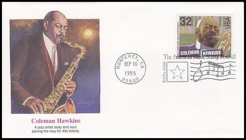 2983 2992 32c Jazz Musicians American Music Series