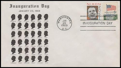 Richard M. Nixon 1969 Inauguration Cover Robert Graebner Cachet