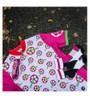 Aero Tech Women's Empress Jersey - Strawberry Fields - Made in USA Printed Cycling Jersey Pink