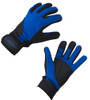 Aero Tech Windproof Cycling Full Finger Gloves - Blue