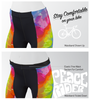Aero Tech Women's Empress Shorts - Peace Rider - PADDED Bike Shorts - Made in USA