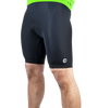 Men's Basic Padded Cycling Shorts Front Logo