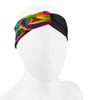 Aero Tech Women's Twisted Headband Wrap in Lava lamp