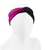 Aero Tech Women's Twisted Headband Wrap in Pink