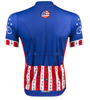 Aero Tech Uncle Sam Patriotic Cycling Jersey Made in USA Sprint Jersey Back