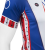 Aero Tech Uncle Sam Patriotic Cycling Jersey Made in USA Sprint Jersey Side Panels and Sleeve