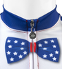 Aero Tech Uncle Sam Patriotic Cycling Jersey Made in USA Sprint Jersey Zipper Bow Tie Detail
