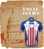 Aero Tech Uncle Sam Cycling Jersey Graphic