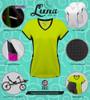 luna recumbent cycling apparel