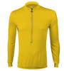 Aero Tech Wicking Long Sleeve Cycling Jersey White Front