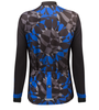 Aero Tech Women's Mosaic Empress Long Sleeve in Royal Blue Back