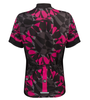 Aero Tech Women's Mosaic Empress Jersey in Pink Back