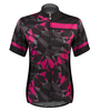 Aero Tech Women's Mosaic Empress Jersey in Pink Front