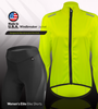 Aero Tech Women's USA Cycling Windbreaker Jacket - Made in USA